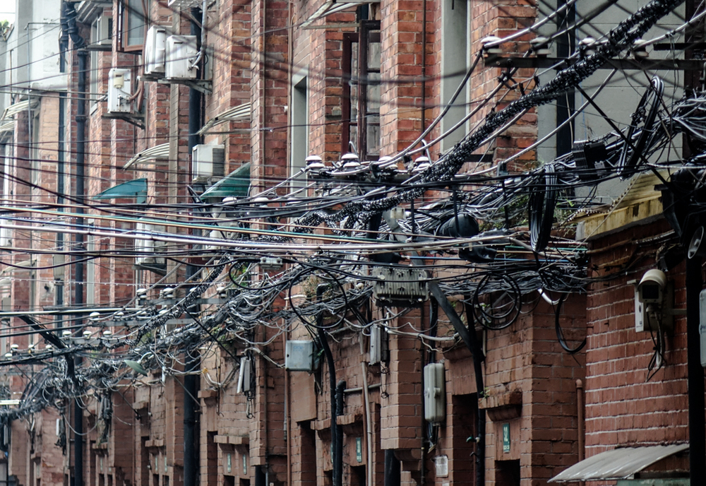 Even Kǒng Fūzǐ, Confucius, would have trouble tracing all these electrical connections. It is to be hoped someone has a plan.