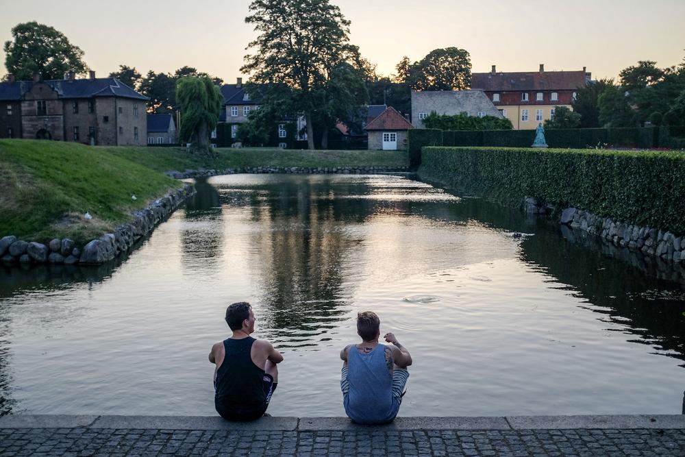 Fuiji X100S,  Rosenborg Castle gardens