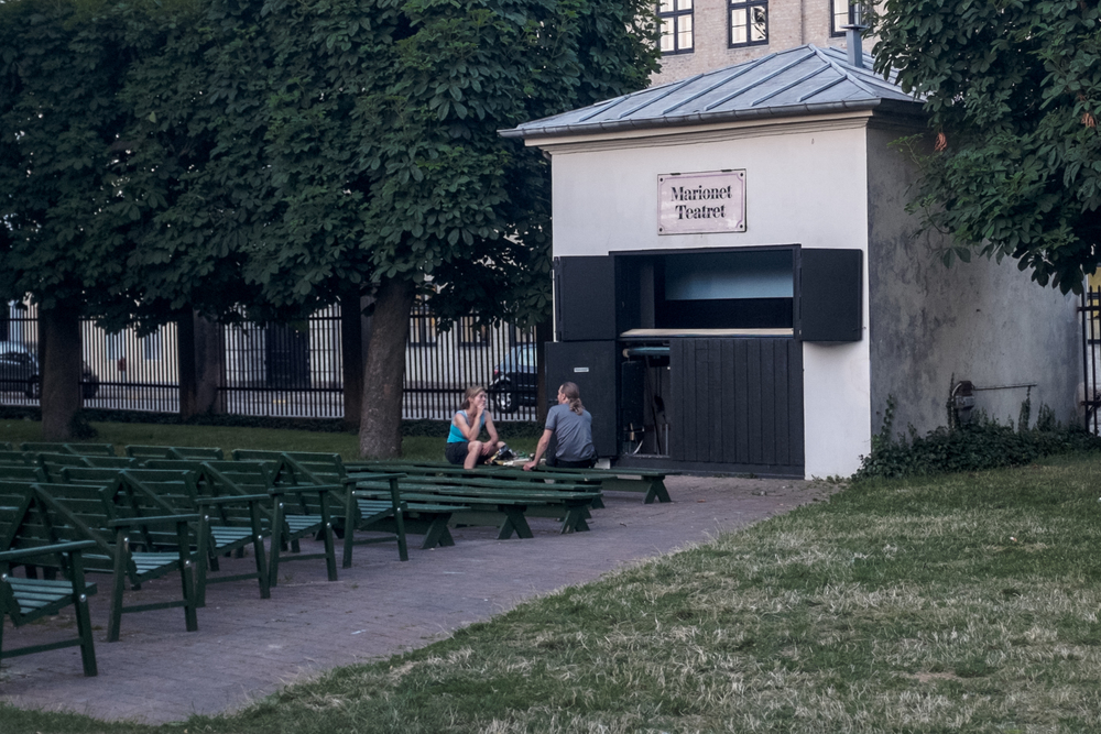 Marionet Theatret, Rosenborg gardens, Fuji X100S