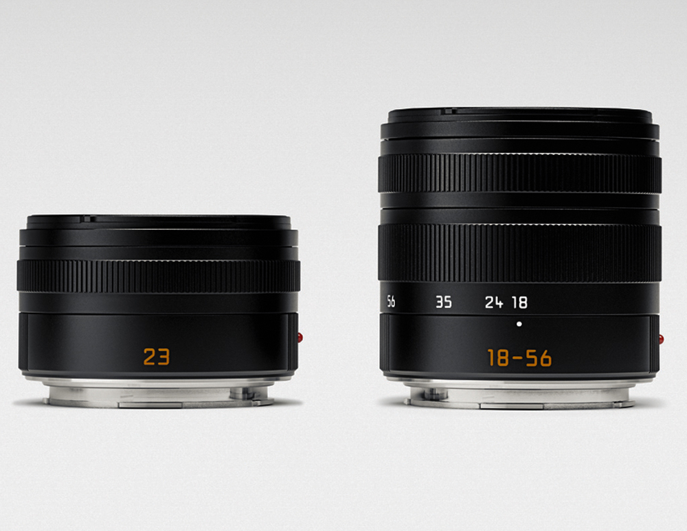 Two T lenses are available now with two more to come by the end of the year. Further expansion of the T-mount system is planned
