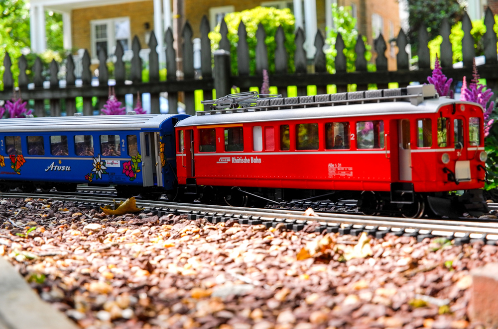 Swiss railways come to Washington DC, 65mm at ISO 200