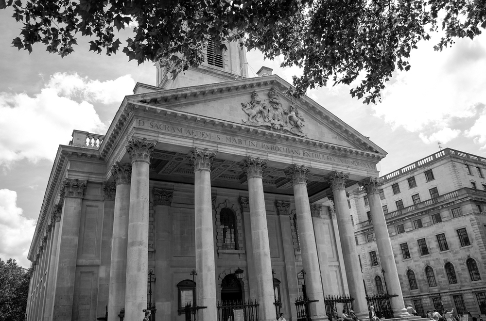 St. Martin's-in-the-Fields, 27mm