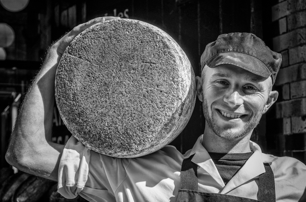 Big cheese. Vario-Elmar-T at 55mm, processed in Silver Efex Pro