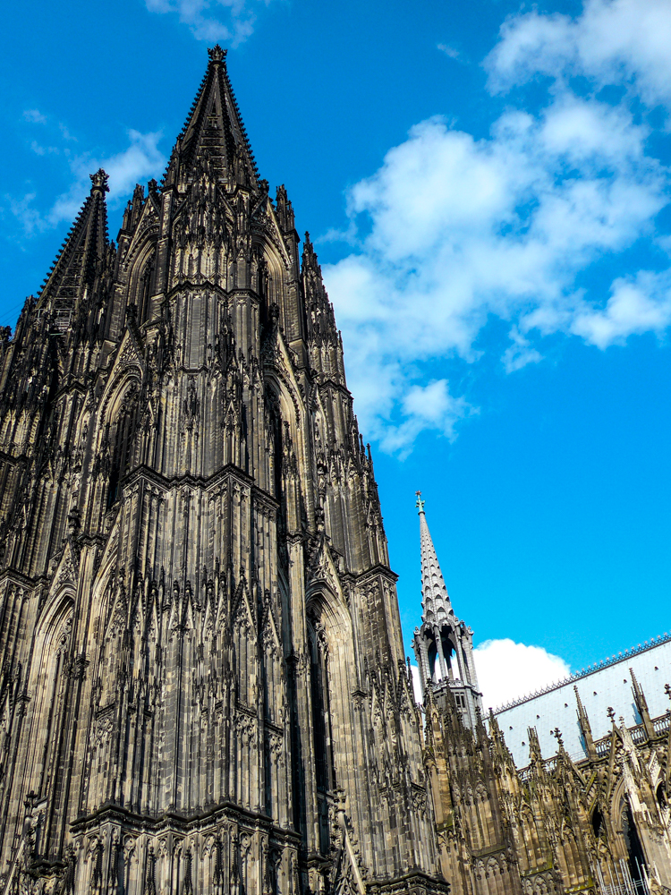 The world-famous Kölner Dom snapped this afternoon on the humble Leica C, a perfect travel companion. Across the river from Tuesday morning will be Photokina, the world's largest photographic exhibition