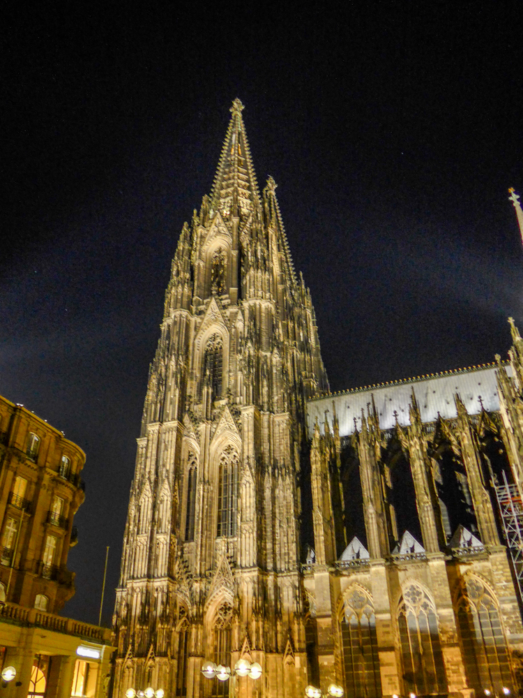 Later....Cathedral by night (Leica C)
