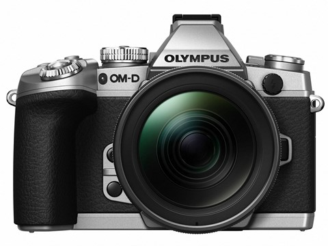 The new silver OM-D EM-1. Photo DPreview