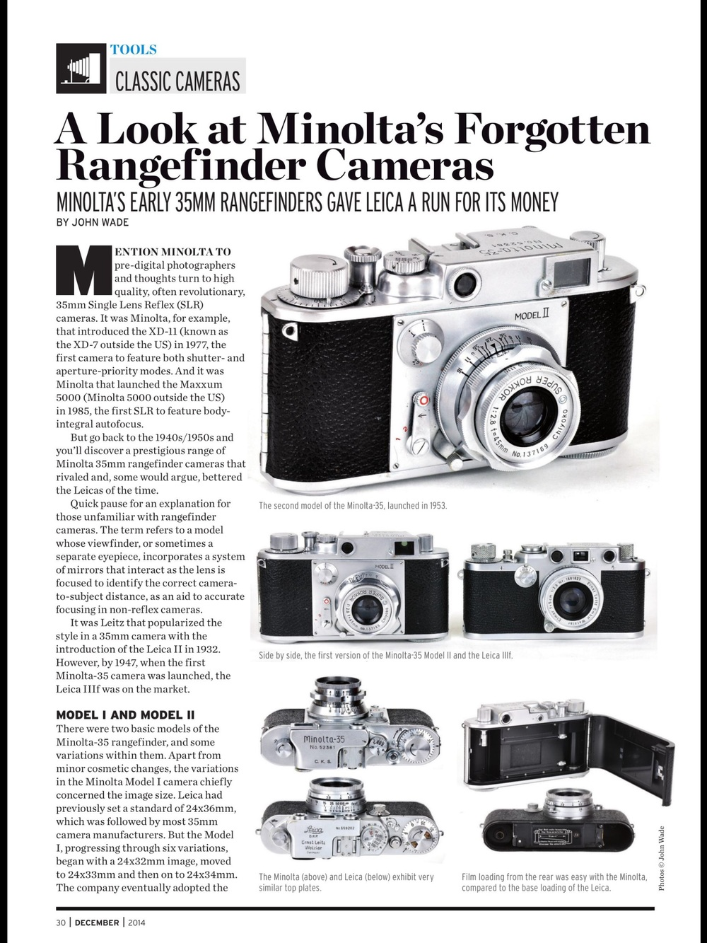 Shutterbug is one of several US photographic magazines that come free with your Readly subscription