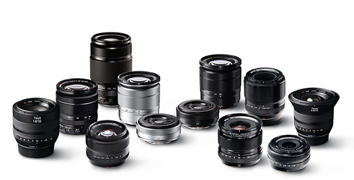 The X-T1, unlike the X100T, is a system camera and opens the way to one of the finest collections of lenses from Fujinon, including some stunning primes and several excellent zooms