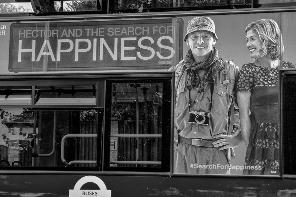 At first glance and at a distance the X100-series can be mistaken for a Leica M, particularly when seen out of context as in this London bus advertisement