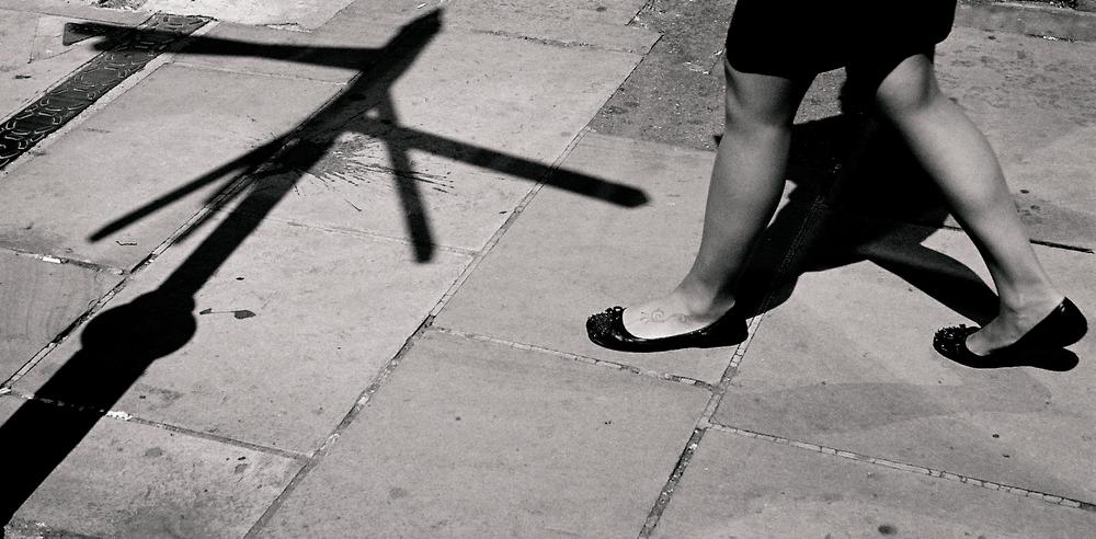 Shadows: Bill Balmer, Leica IIDand 3.5cm Elmar