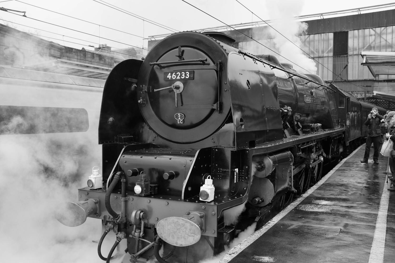 dinner on a steam train