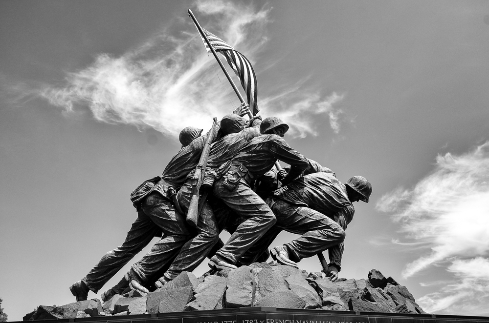 Heroes of Iwo-Jima with the Leica T (Washington DC)