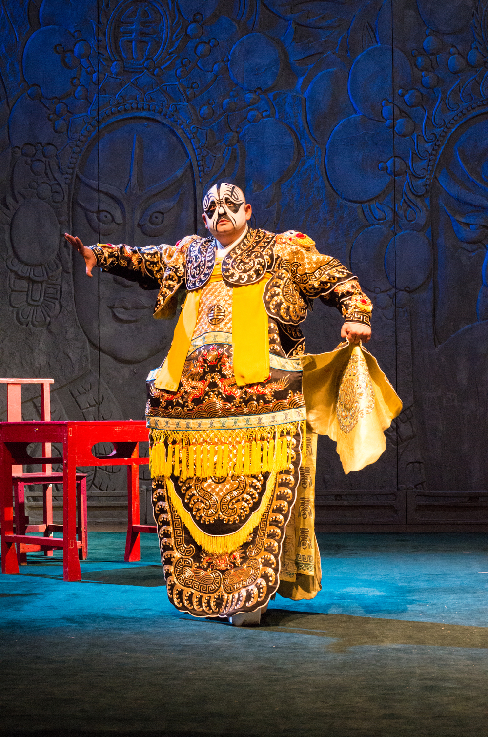 Photo: Leica X Vario, 3200 ISO at the Beijing Opera. There's no question about the quality of this camera. Good ISO performance helps compensate for the relatively slow lens. The quiet shutter makes it possible to use the camera during a theatre performance