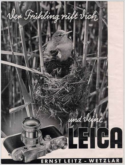 """Trending on Twitter in pre-war Germany: """"Spring calls you and your Leica"""""""