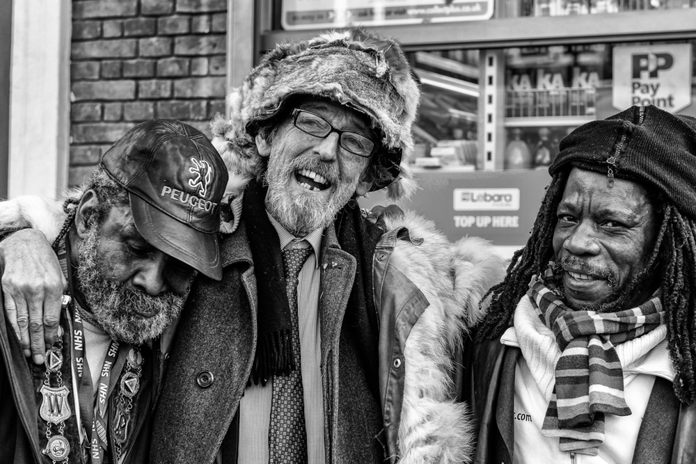 Portobello Road locals: Fuji X-T1 and f/1.2 56mm prime show just a snippet from the fantastic X Series repertoire (Mike Evans)