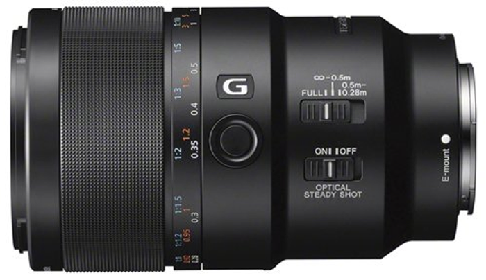 The 90mm Macro, one of the three new primes added to the Sony FE-mount range