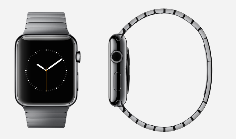 Here's a little something I made earlier using Mixyourwatch.com. This dark steel Apple Watch with matching steel band is currently the one I will...possibly....maybe.... choose. But I reserve the right to change my mind until the minute I walk into the Apple Store