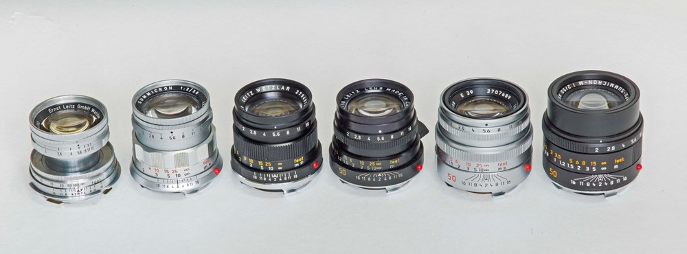 A magnificent collection of nifty fifty 'Crons spanning over sixty years (Photo: Brian Bower)