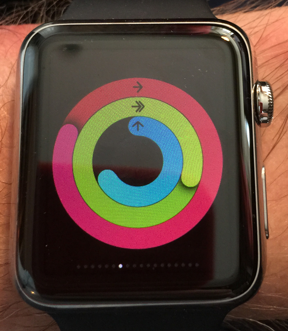 The Activity application is one of the gems of the Apple Watch. Alone, it is sufficient reason to by one