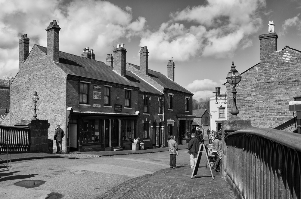 The Black Country Museum: f/8 @ 1/250s, ISO 100