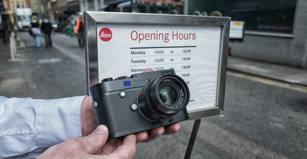 Leica's first-in-captivity Monochrom Mark II captured in colour by the little Ricoh GR. With the attached 50mm Apo-Summicron, this is a £9,000 camera. Ricoh costs around £400-£450