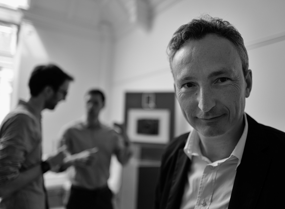 Leica UK Managing Director, Jason Heward, at this morning's launch of the Leica Q in Mayfair. Photo: Leica Q, f/1.7 at 1/320s