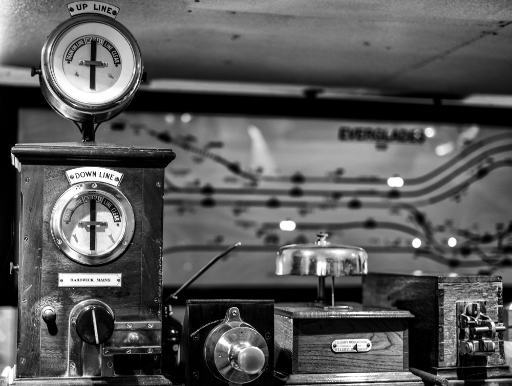 Vintage signalling equipment