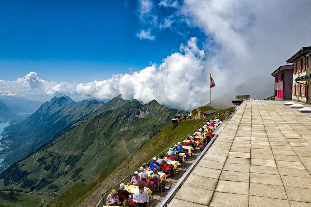 Dining in style on the Rothorn
