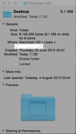 If the size of your desktop is much more than 10MB you need to do some housekeeping