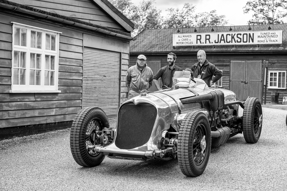 Not a world land-speed contender, the Napier-Railton was piloted by John Cobb to an absolute 143.44mph record on the banked circuit of Brooklands. He went on to win the land speed record in the Railton Special