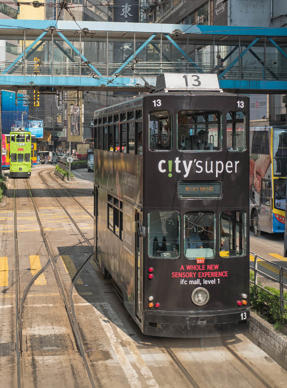 Hong Kong's dinky little tram system is now under threat from city planners, may they be thwarted in their plans