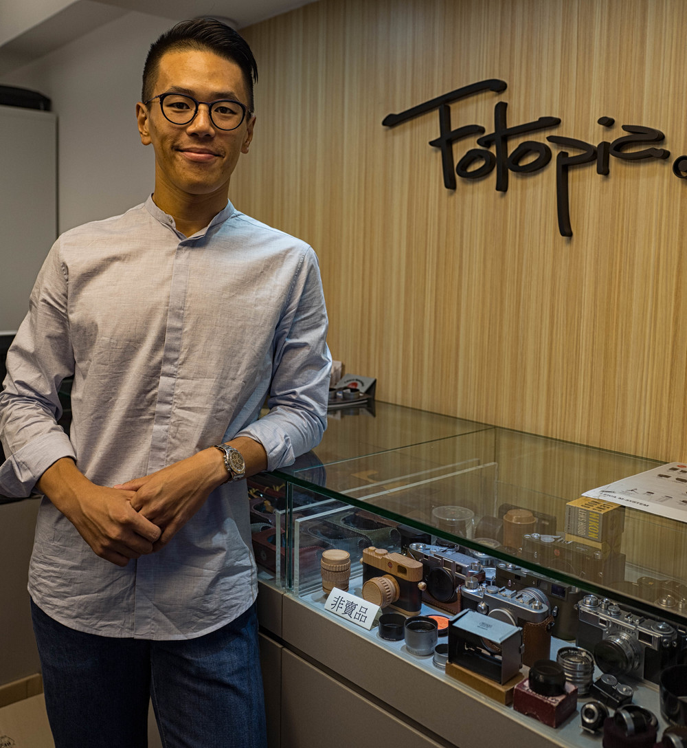 Gilbert Yuen of Fotopia stocks an impressive range of specialist equipment