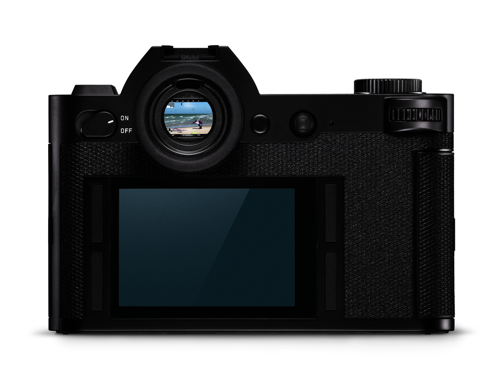 The off-centre viewfinder pod brings SLR styling to mirrorless, reminiscent of both Sony A7 and Fuji X-T1 cameras