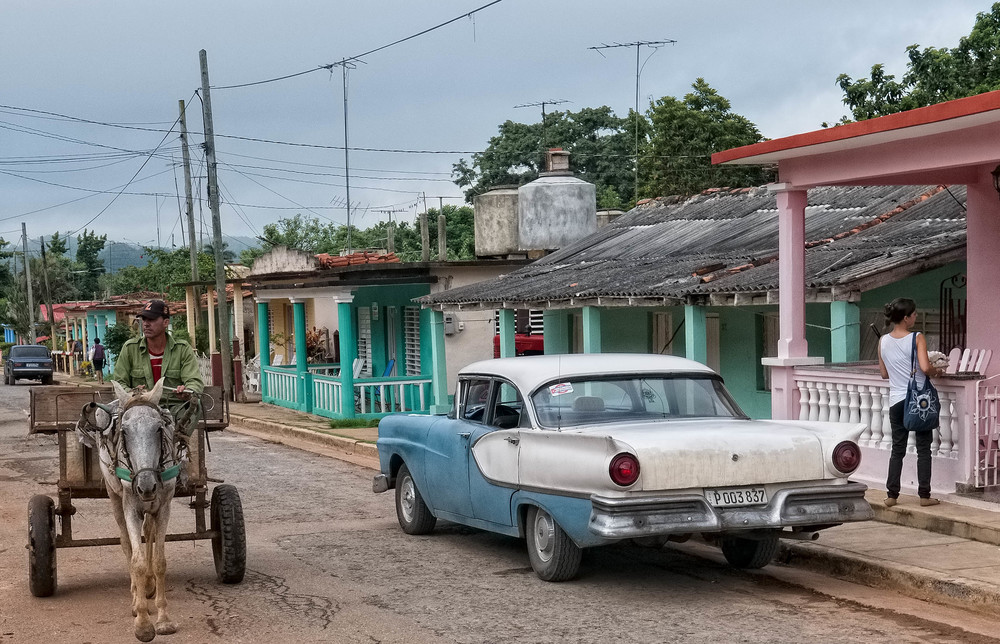 Street scene in Vinales
