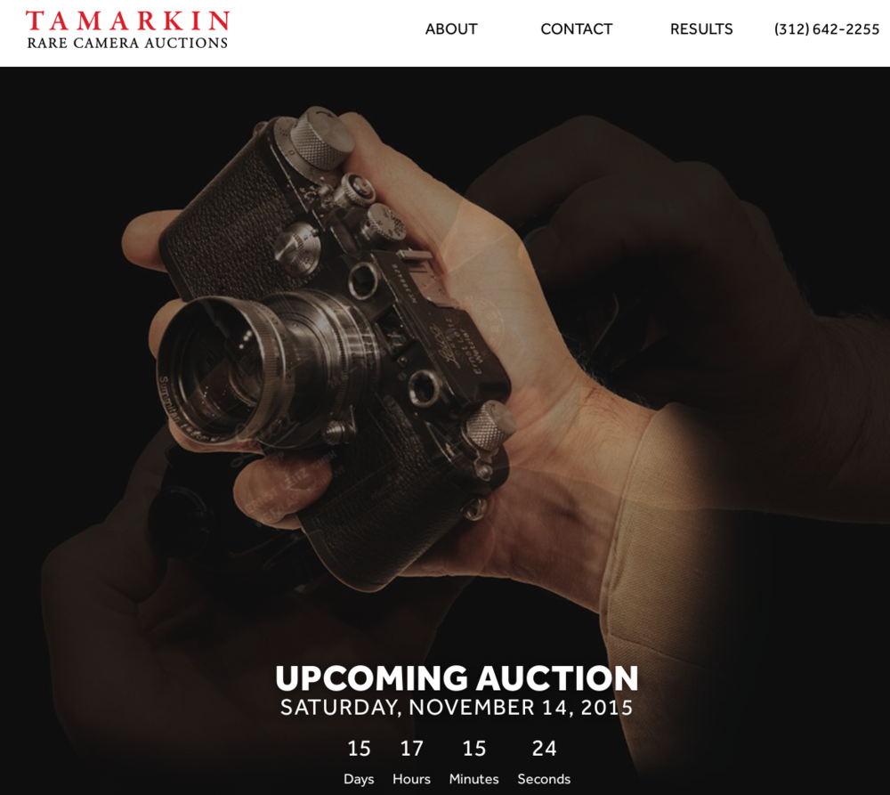 Tamarkin in the USA holds its next auction in two weeks' time