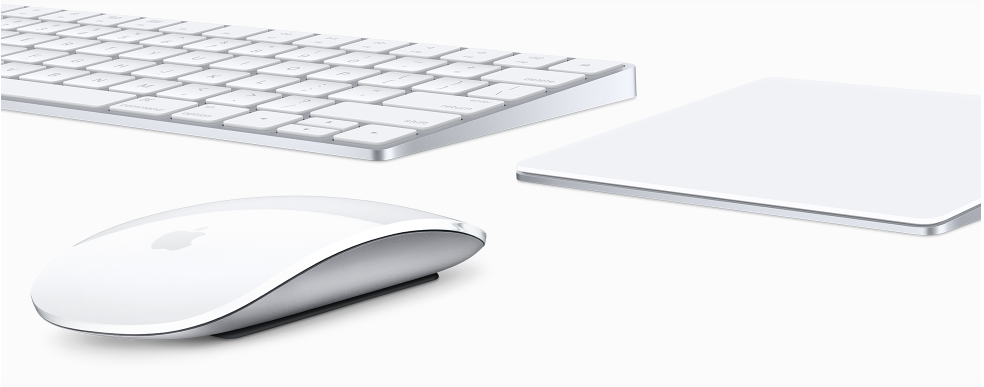 New rechargeable trio--Magic Keyboard, Magic Mouse 2 and Magic Trackpad