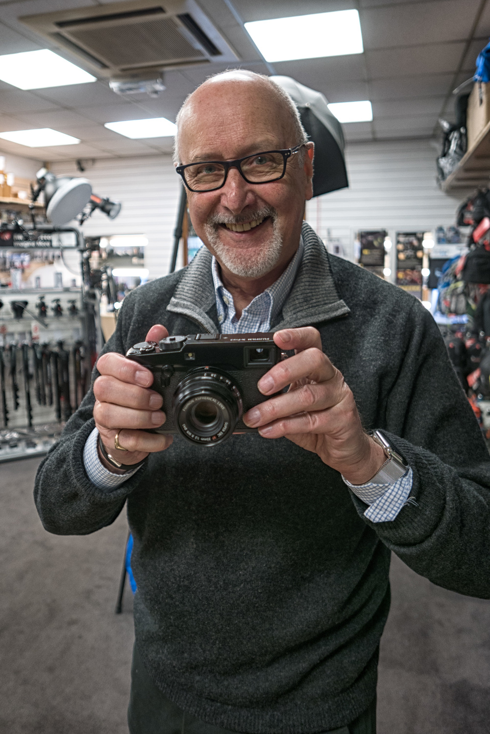 Look what I got: The X-Pro2, my private viewing at Chiswick Camera Centre