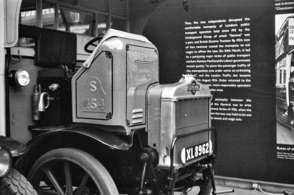 1922 London General omnibus