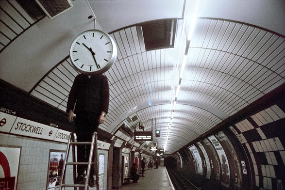 Clockwell by Bob Mazzer
