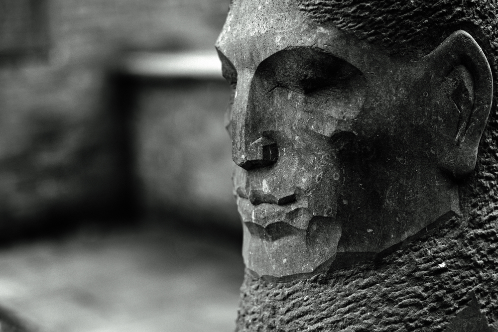 Stoneface: 56mm f/1.2