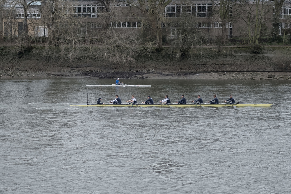 Hmmm...now I'm no expert but could this be the Oxford team getting in a bit of practice?