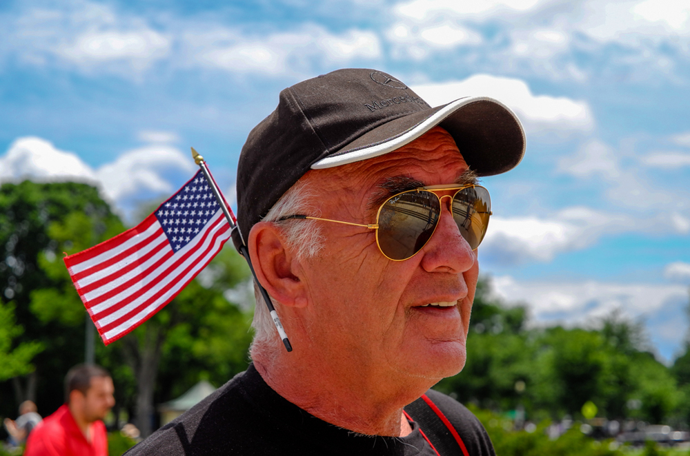 Independence Day, 2014, seen through the 18-55mm zoom and the then-new Leica T. The big surprise was not the aluminium design of the camera, it was the new T mount, a larger bayonet fitting for a future range of Leica APS-C and full-frame designs. (Photo Mike Evans in Washington DC)
