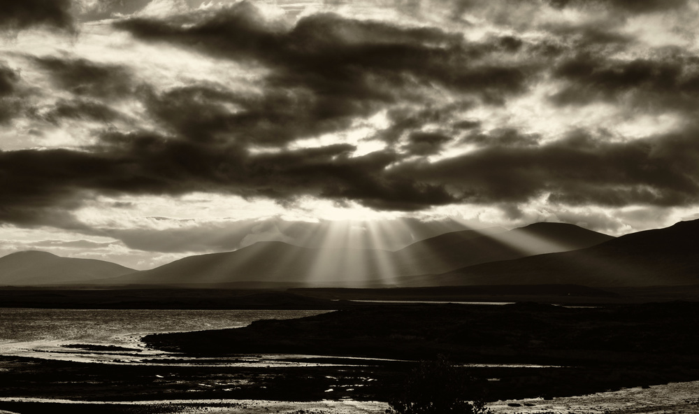Photo 1: Sun Rays Sepia