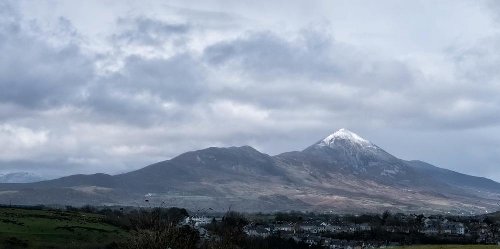 Photo 3: Westport, Snow on Croagh Patrick