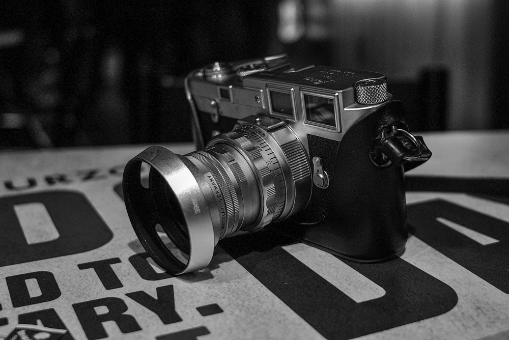 1957 M3 and 50mm DR Summicron