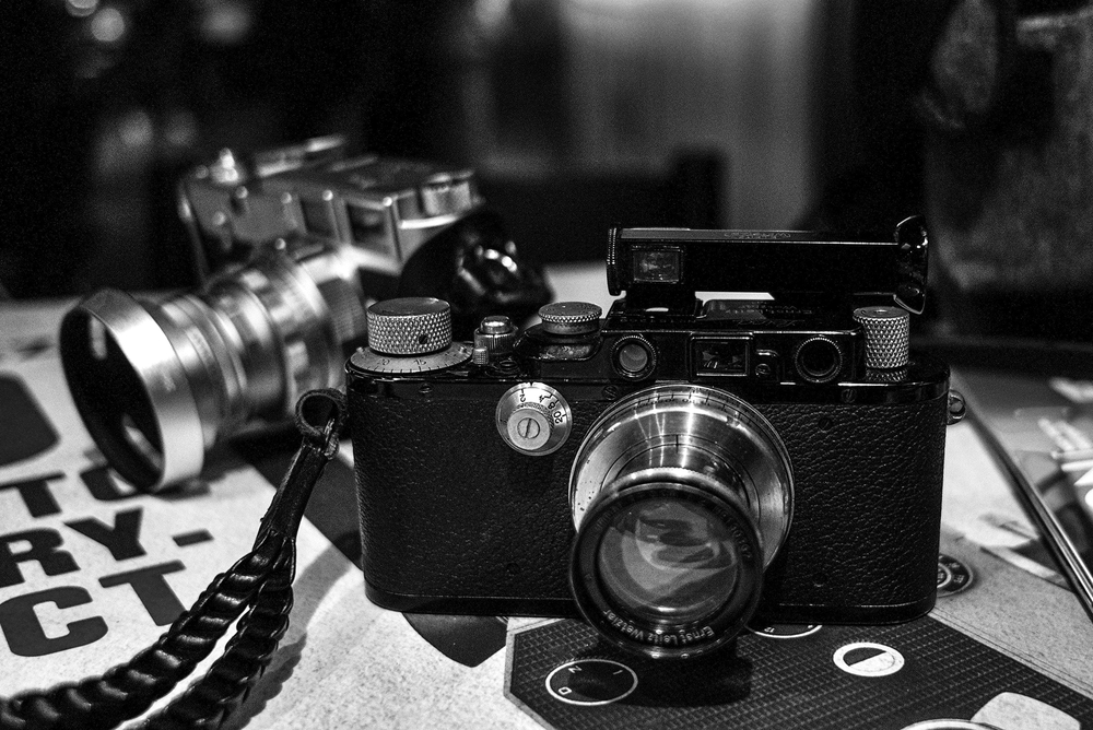1935 Leica III and 50mm Summar