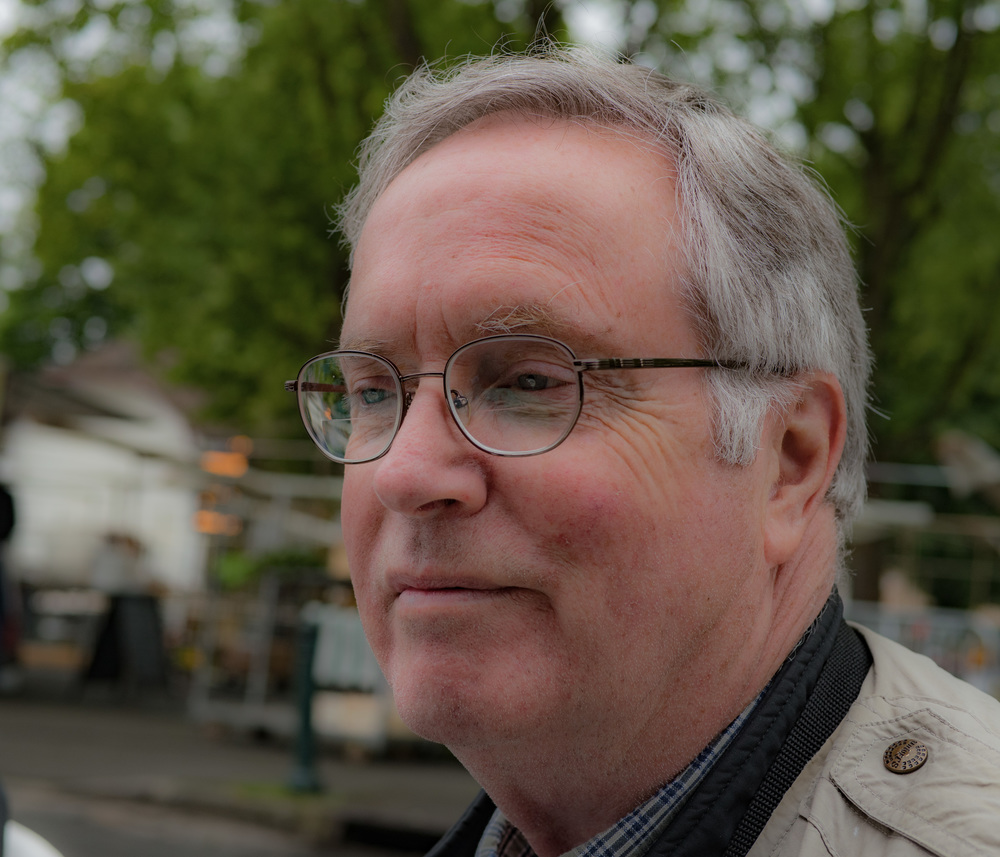 Jim McKeown of McKeown's Guide to Classic and Antique Cameras is a regular visitor to Biévres