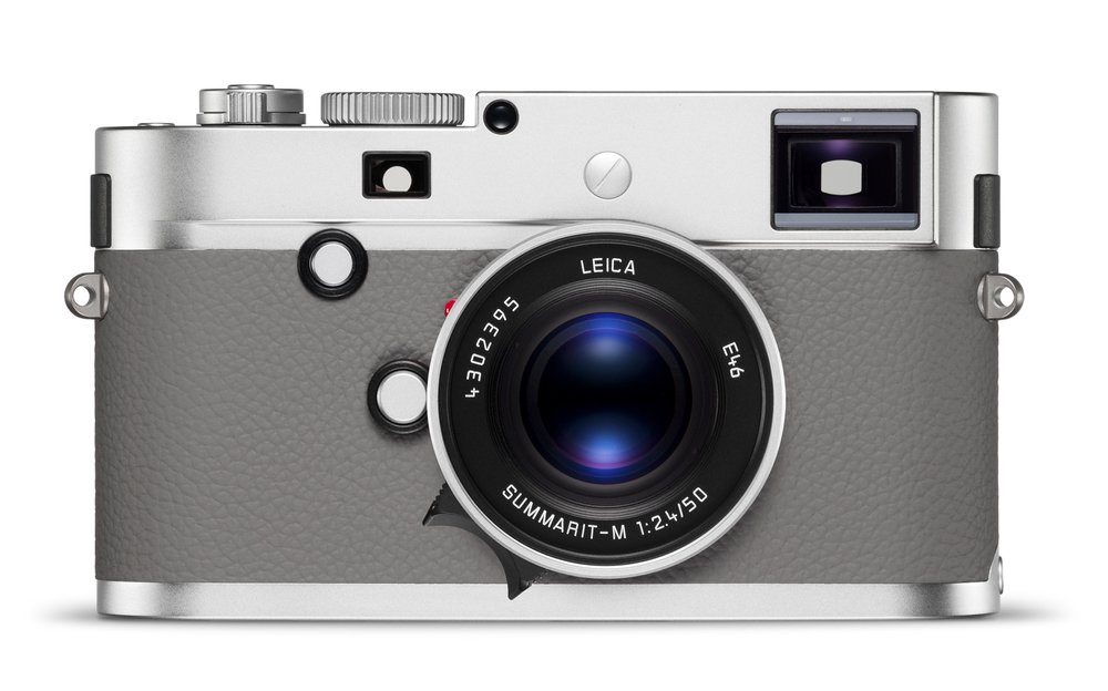 Sticking with the monochrome theme, this is the new à la carte Leica Monochrom in a stylish combination of black, silver and grey