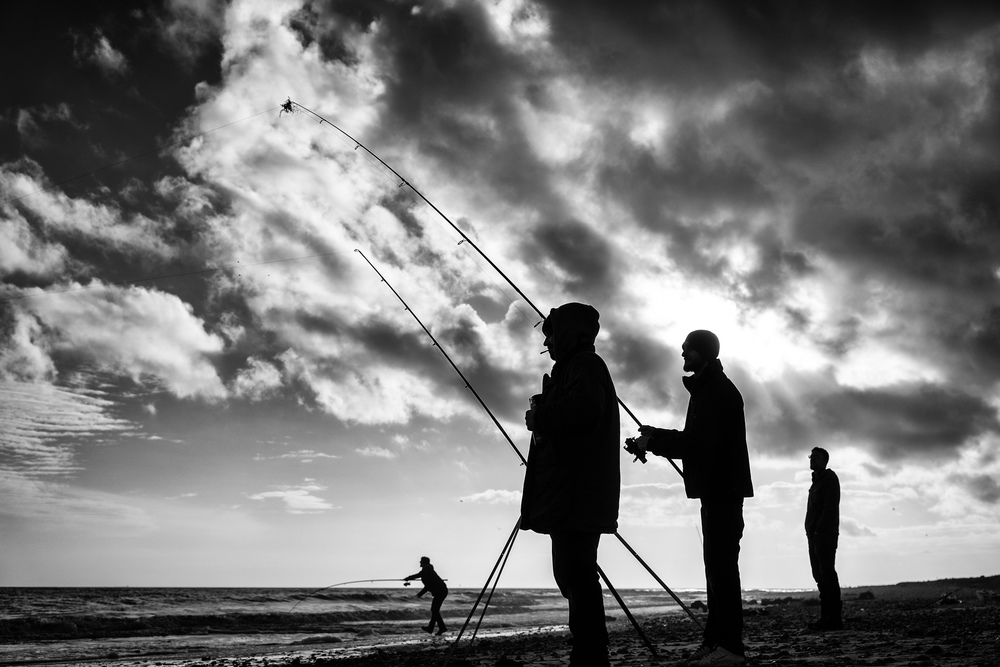 Suffolk Fishermen at Covehithe Leica SL with 24-90 Vario Elmarit SL Asph.