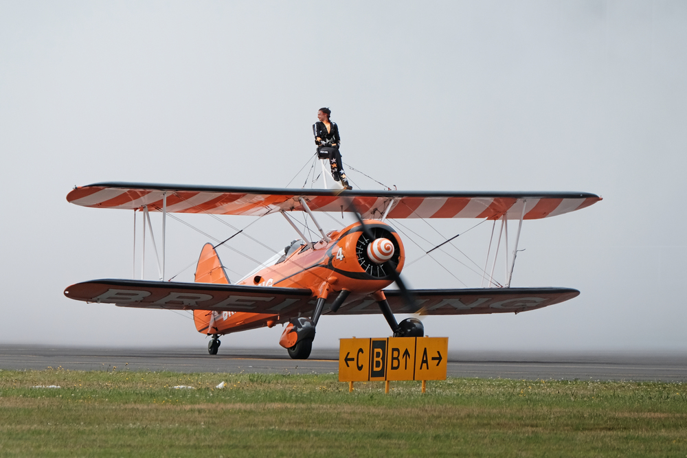 Preparing for the wingwalking
